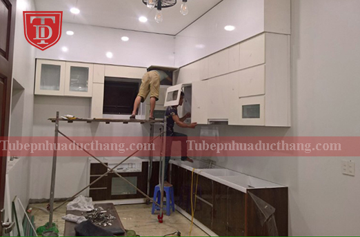 Thi công tủ bếp tại Hải Phòng